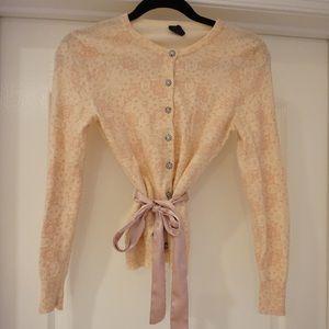 Gap pattern cardigan sweater